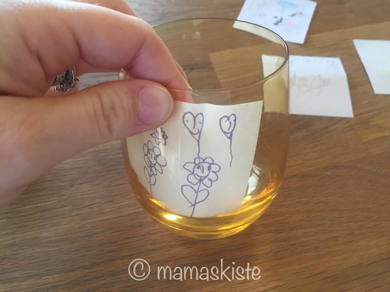 Bild im Glas