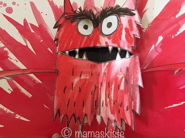 Farbenmonster rot