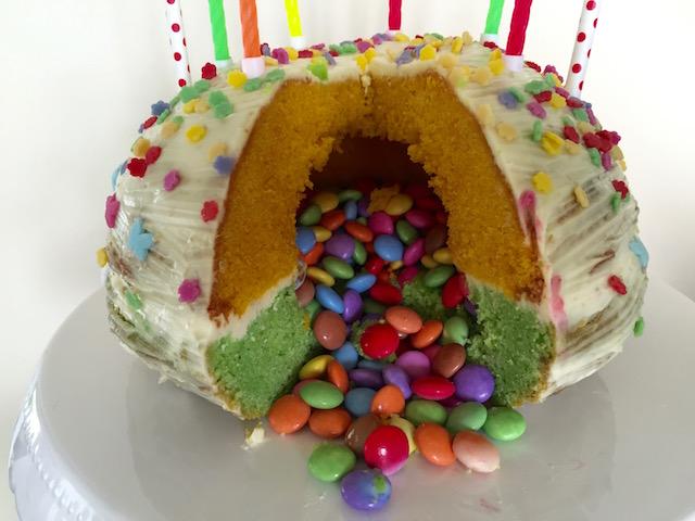 Pinata Kuchen Nahaufnahme