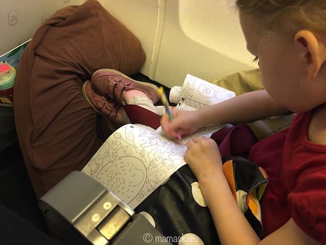 Mit Kindern auf Reise malen