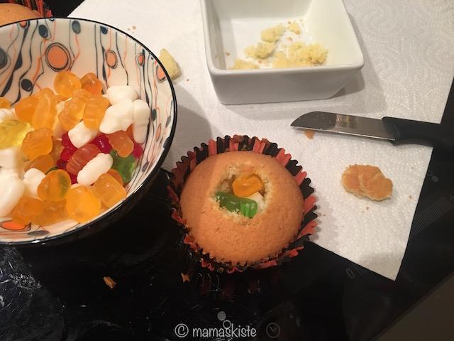 pinata-muffins-gummibaerchen