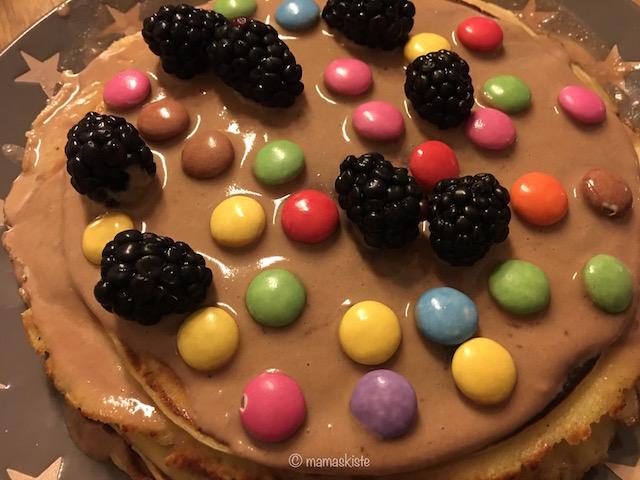 Schokoladige Pfannkuchentorte Mamaskiste De