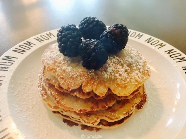 Pancakes ohne Ei und Milch