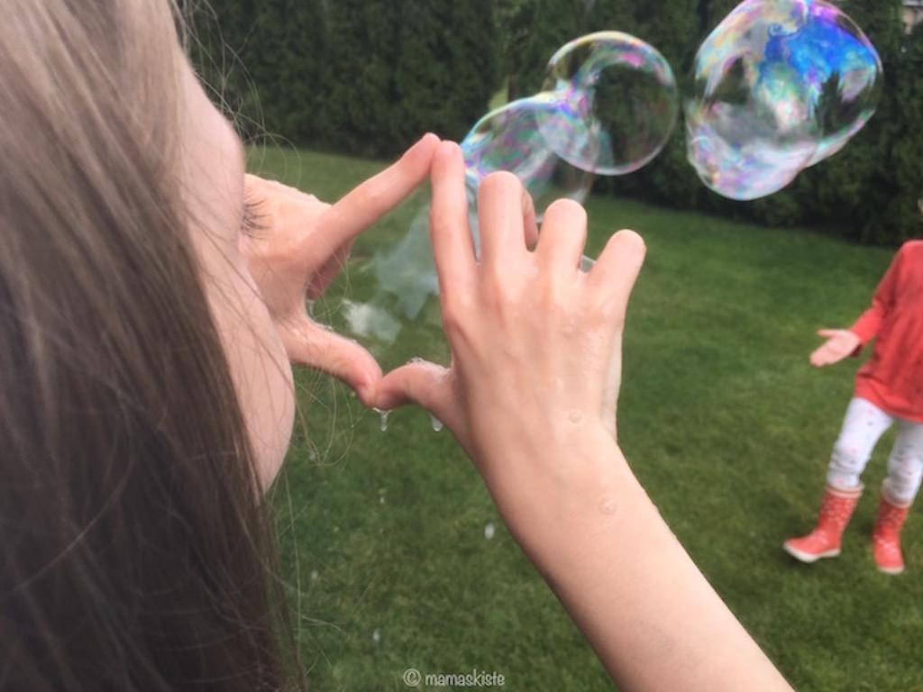 Seifenblasenrezept