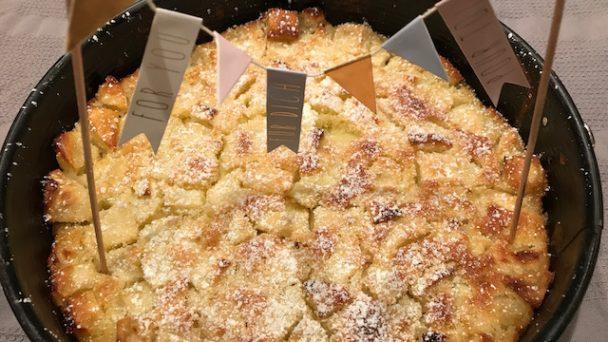 Saftiger Apfelkuchen