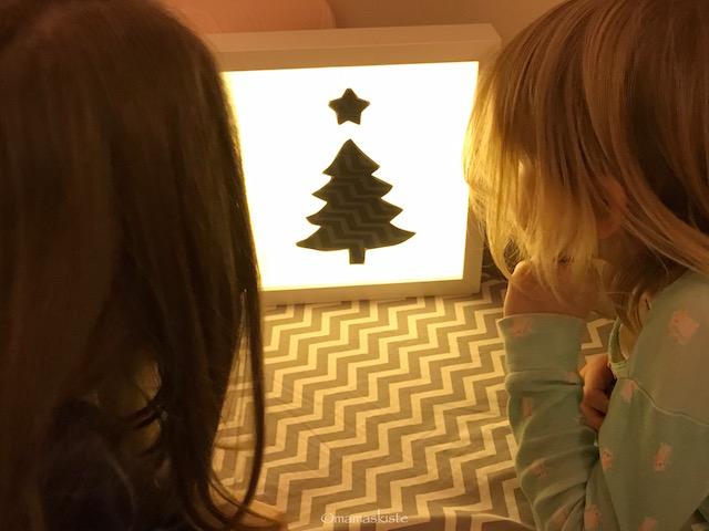 Leuchtbild zu Weihnachten