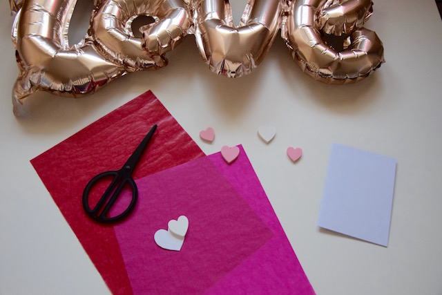Valentinstags Karte
