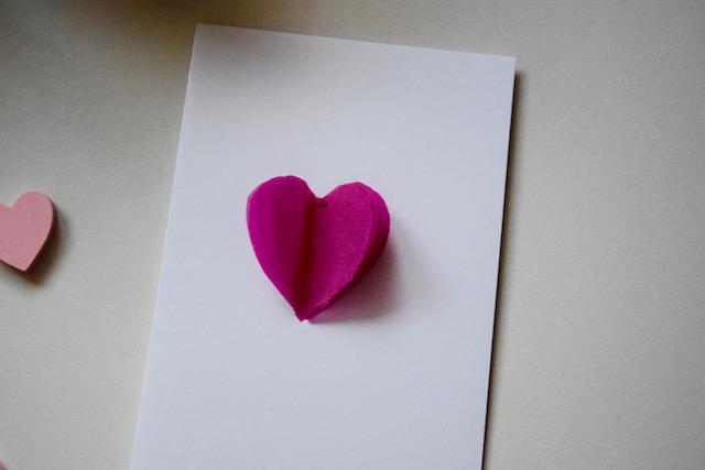 3D Valentinstags Karte