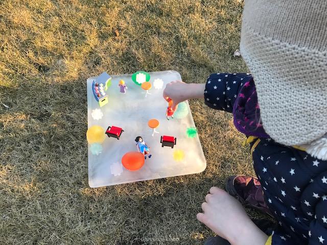 Eisspielbahn Playmobil