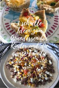 Schnelle Ideen zum Abendessen für Kinder