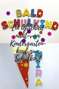 Kindergarten Schulkind Einschulung