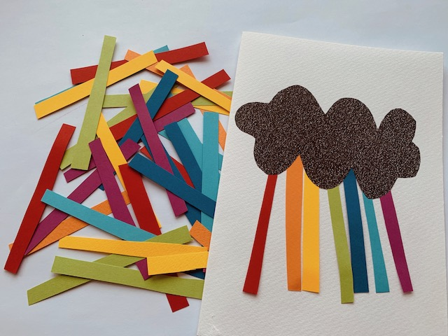 DIY Einladungskarten Regenbogen Kindergeburtstag