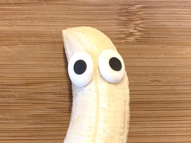 Halloween-Snacks Banane